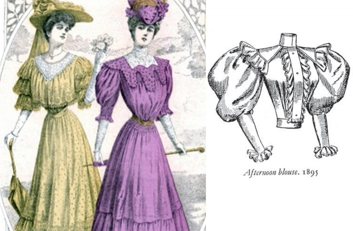 The history of the blouse: The fashion of the nineteenth century