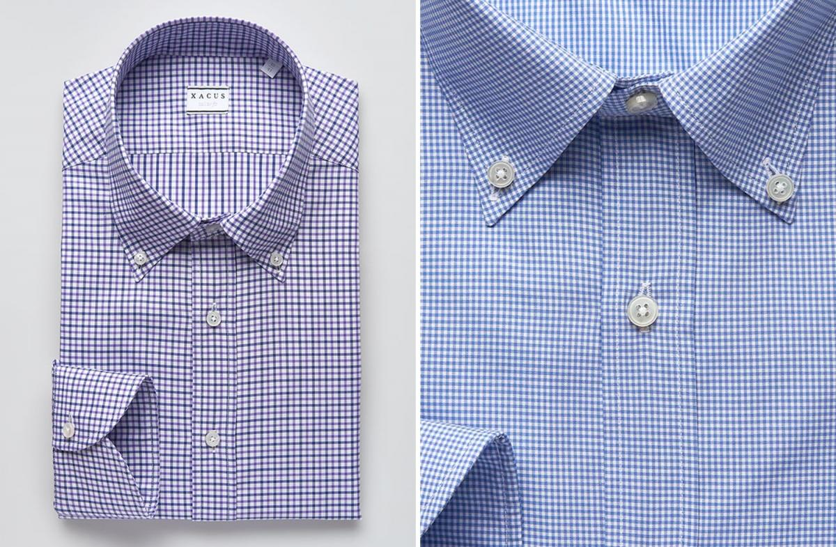 Mens Shirts Gingham Your Office Wear Must Have Xacus