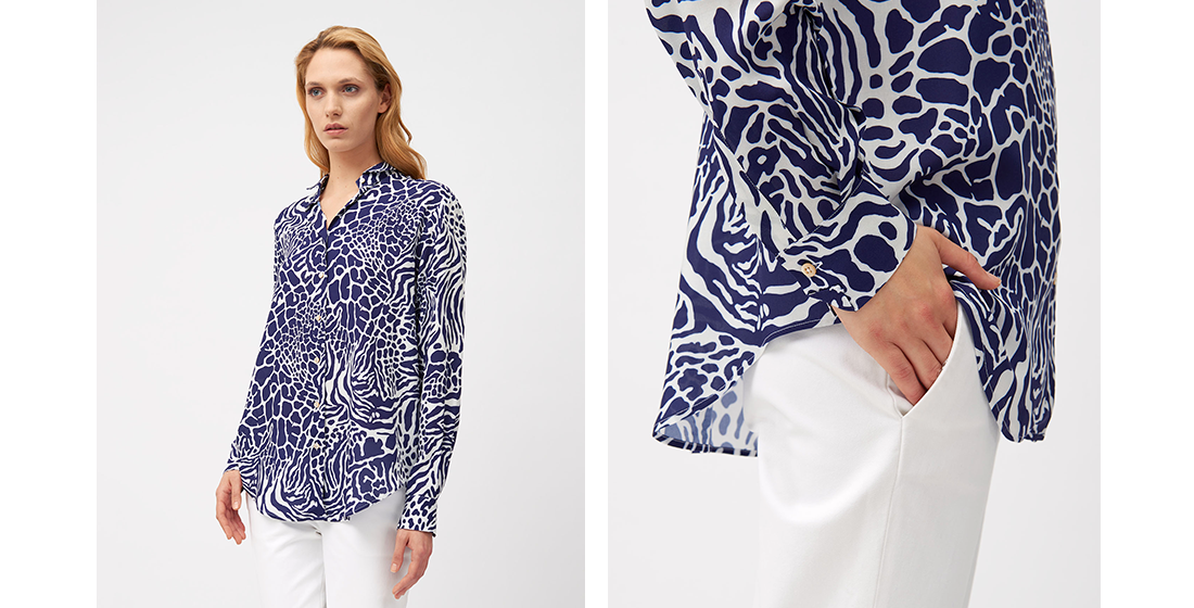8b0ae447a Spring Summer 2019: the new women's shirt collection is online